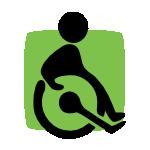 Cabinet accessible aux personnes à mobilité réduite.